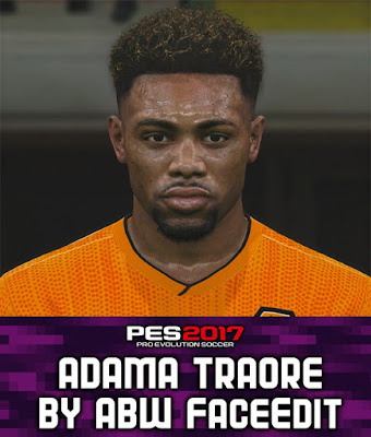 Pes 2017 Adama Traore Wolves Face Download Game