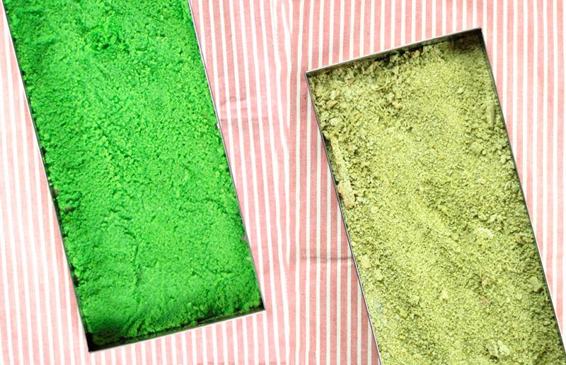 Dois tons lindos de verde... hmmm qual o seu favorito?!