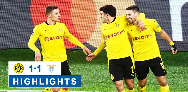 Borussia Dortmund vs Lazio – Highlights