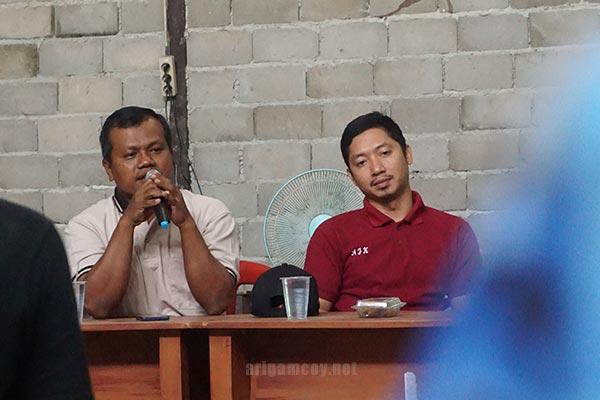 Foto Pak Purwanto Selaku Kepala Desa Dabong