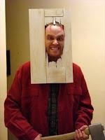 Disfraz simple Jack Nicholson en El Resplandor
