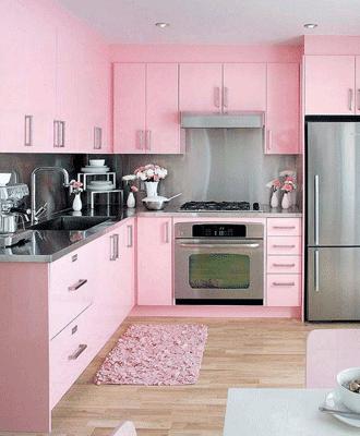 Desain Interior Kitchen Minimalis Set Yang Unik