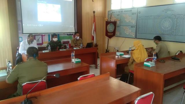 Danramil 22 Wonosari Hadiri Rapat Koordinasi Tata Cara Ibadah Jelang New Normal