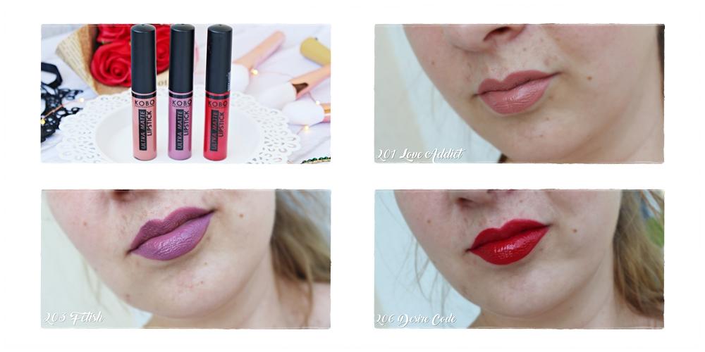 Kobo Professional Ultra Matte Lipstick