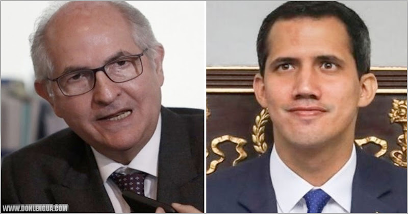 Antonio Ledezma denuncia que el G4 le ha puesto una camisa de fuerza a Juan Guaidó