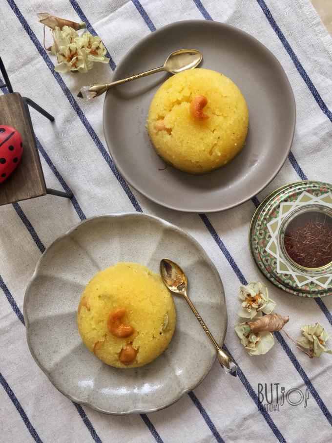 Rava Kesari Semolina Pudding