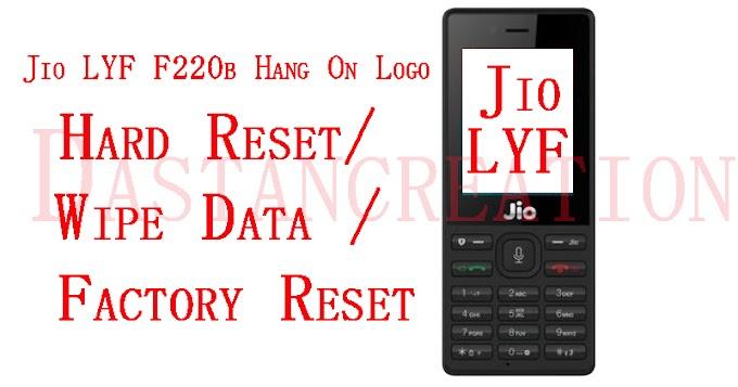 Jio LYF F220b Hang On Logo Solution Hard Reset