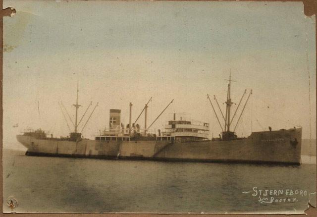 Dutch freighter Koenjit, sunk on 13 May 1942 worldwartwo.filminspector.com
