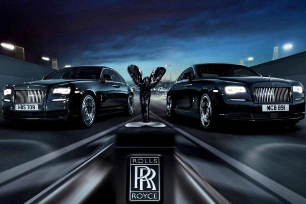 Rolls-Royce Wraith Black Badge edition