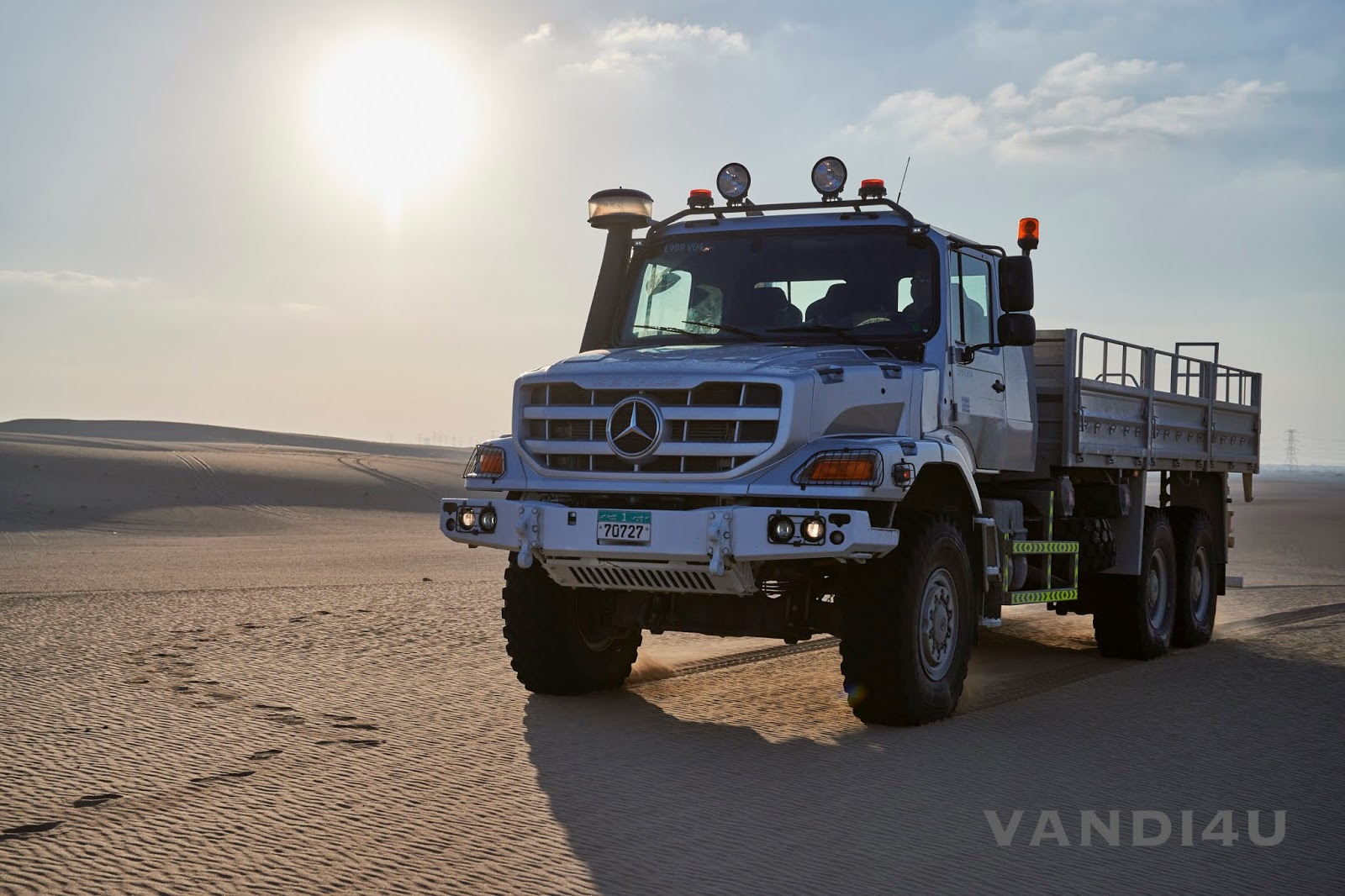 2020 Mercedes Benz Zetros revealed | VANDI4U