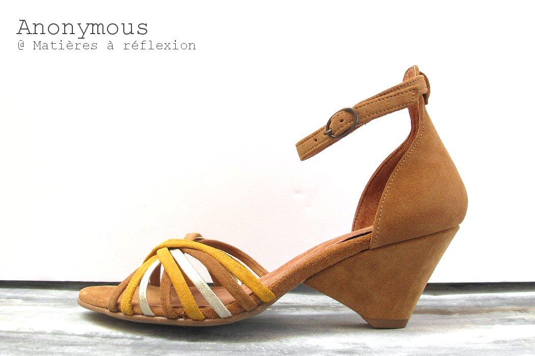 Sandales Anonymous