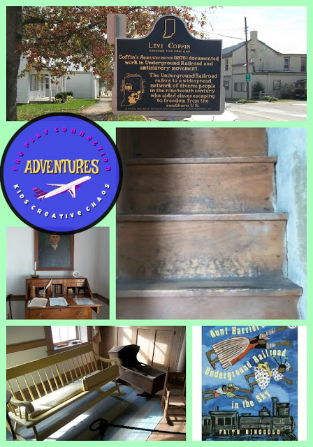 Levi Coffin House Historic Site and Underground Railroad History Lesson