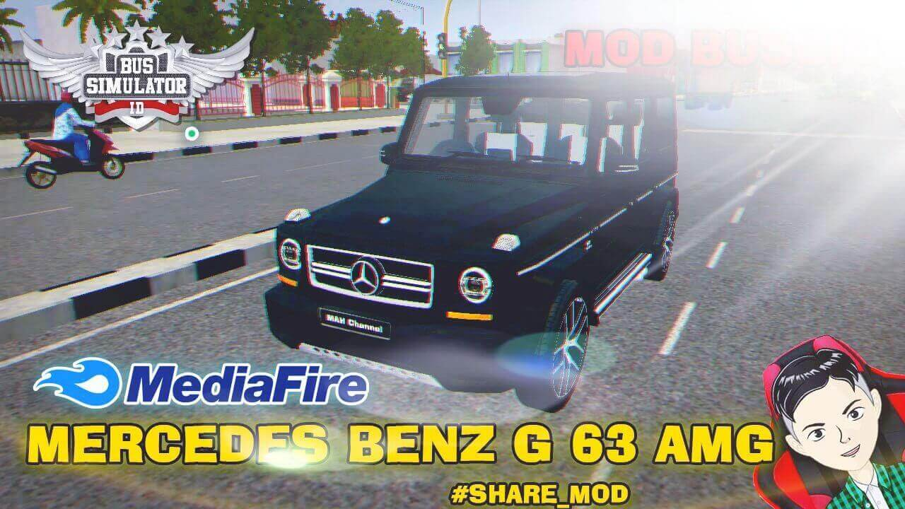 Mod Bussid Mercedes-Benz G65 AMG Luxury