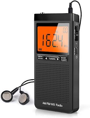 Small Pocket Severe Weather Alert Radio