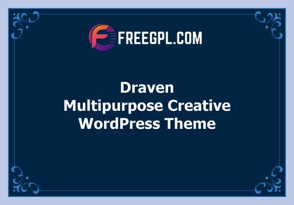 Draven – Multipurpose Creative Theme Free Download