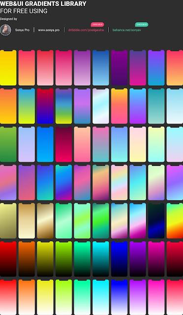 70 تدرج لوني للمصممين - Free Figma Gradients 2-89bjUkXoXj0