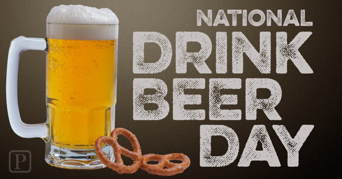 National Drink Beer Day Wishes Unique Image