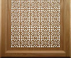 wood laser cutting work
