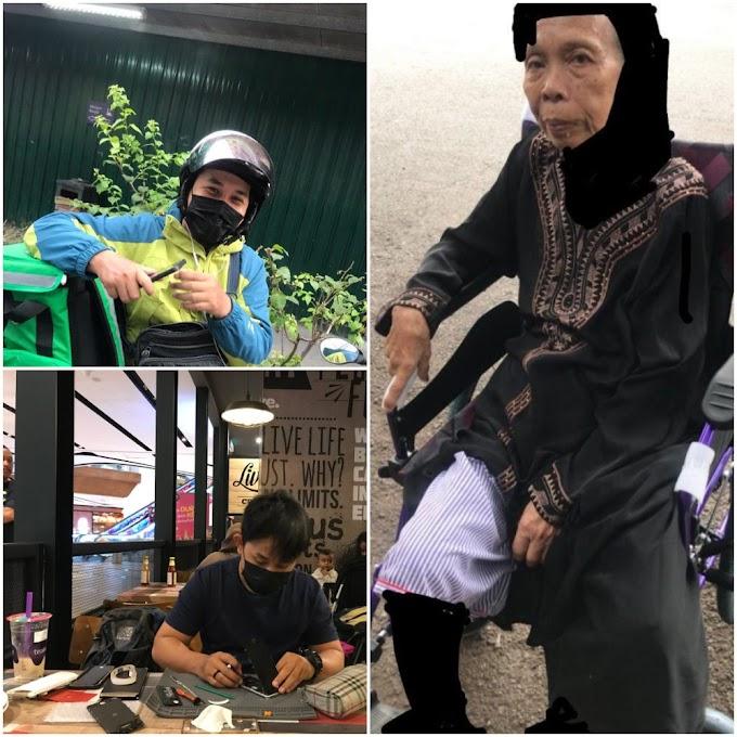 Nak Tanggung Kos Rawatan Nenek Kena Strok, Pemuda Ini Buat 2 Kerja Sehari