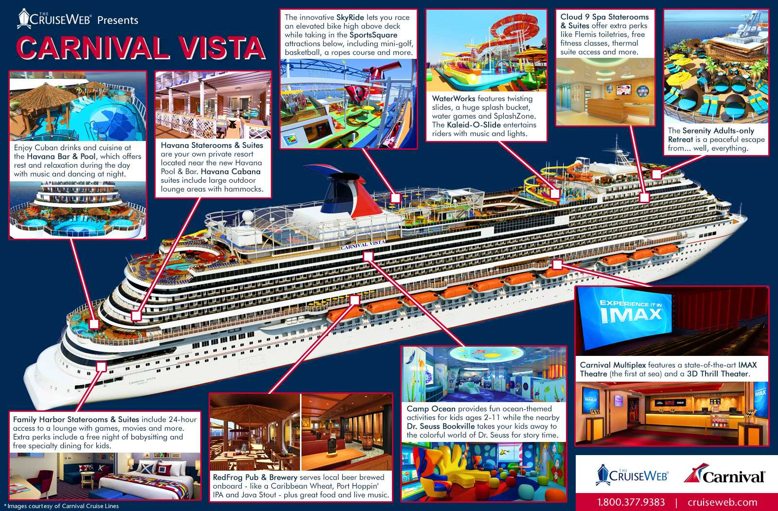 fbc372ff2ed Cruise Web Presents Carnival Vista Cruise Ship  INFOGRAPHIC  - Viral ...