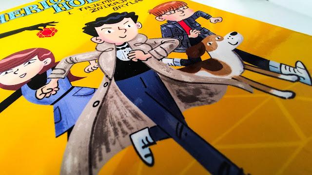Sherlock Holmes i tajemnica znikającego brylantu - świetna książka nie tylko dla początkujących czytelników