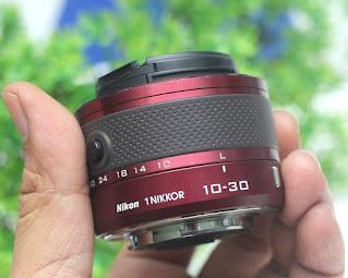 Lensa Mirrorless Nikon 1 10-30mm VR Bekas