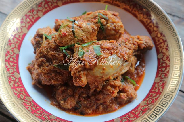 Rendang Pedas Ayam Gerenti Sedap