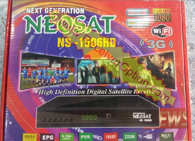 NEOSAT NS-1506HD BUILT IN WIFI RECEIVER SOFTWARE