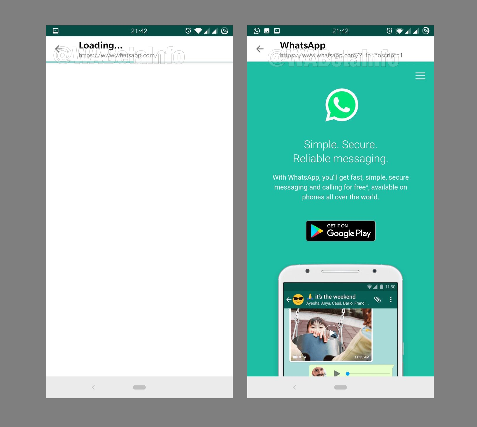 WhatsApp Might Be Getting an In App Browser / Digital