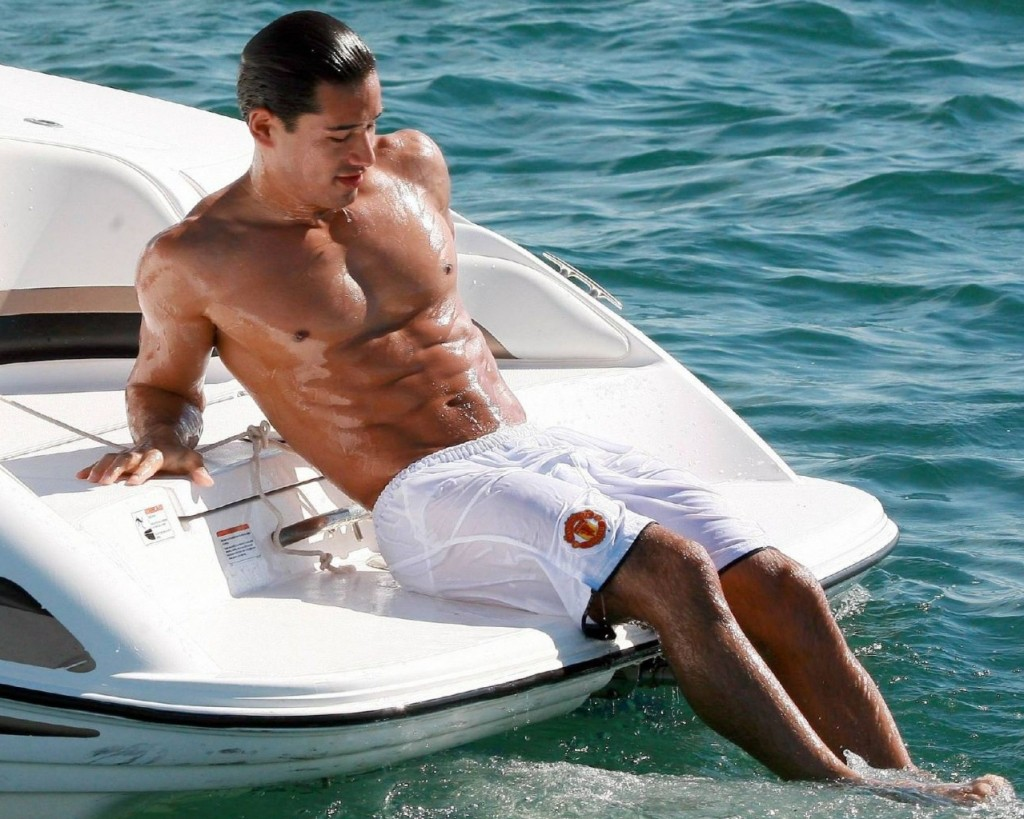 Necessary words... naked mario lopez bulge will