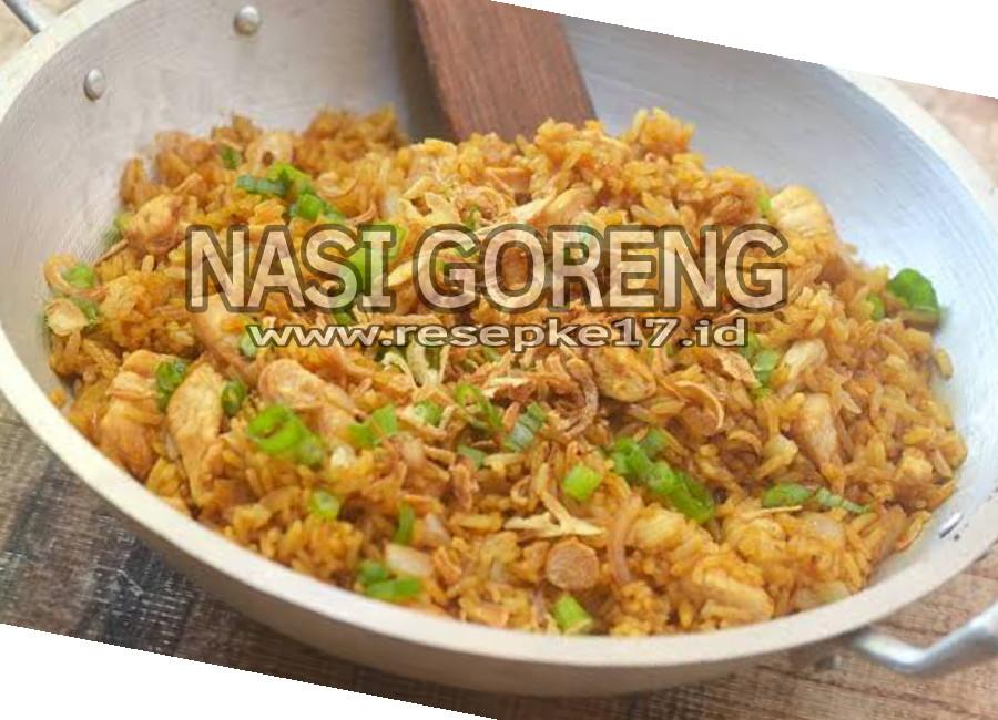 Resep Nasi Goreng Pedas Spesial Ala Restoran