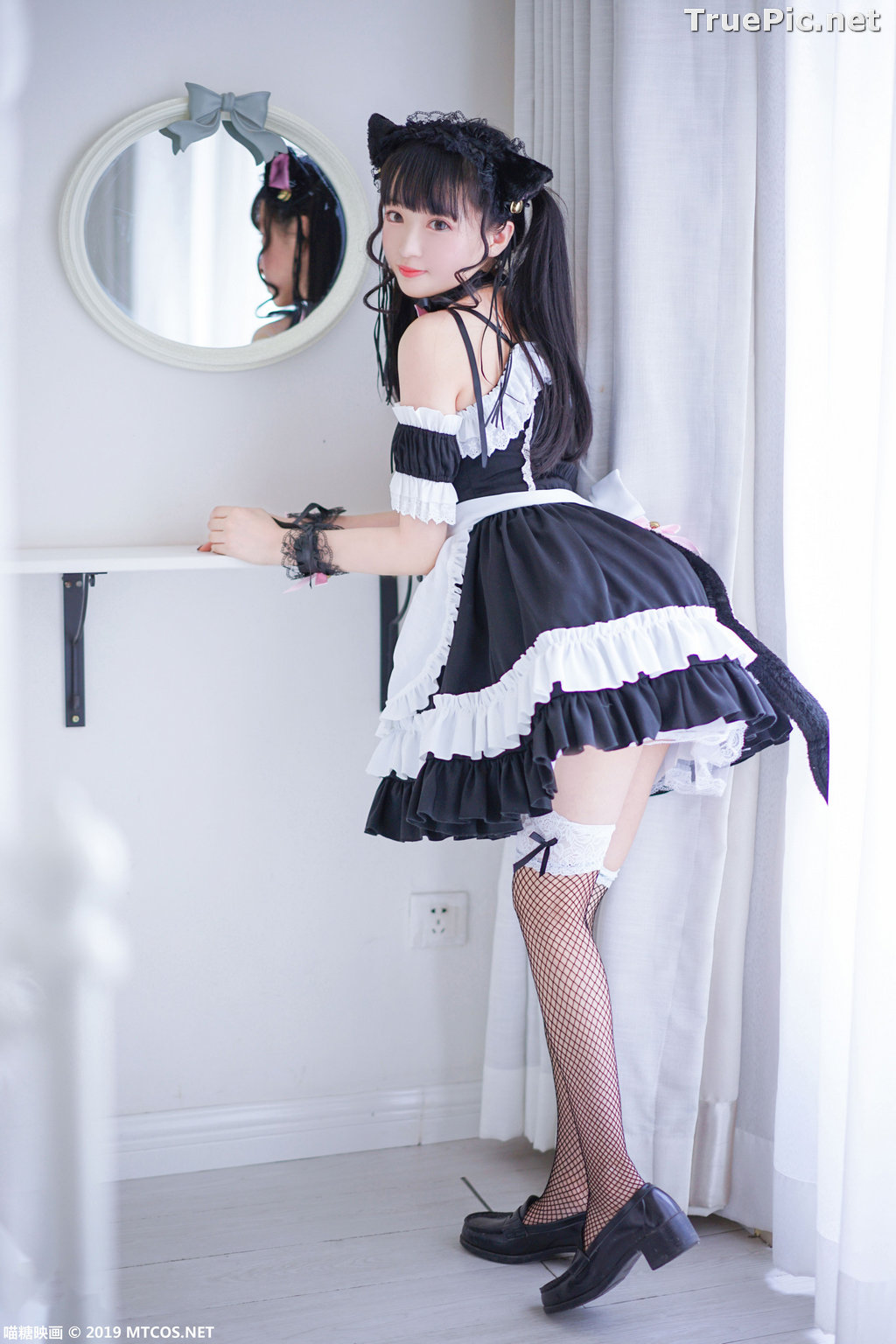 Image [MTCos] 喵糖映画 Vol.051 - Chinese Cute Model - Lovely Maid Cat - TruePic.net - Picture-9
