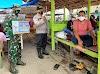 Bhabinkamtibmas Polsek Peureulak Bersama Babinsa Imbau Pengunjung Pantai Untuk Patuhi Protokol Kesehatan