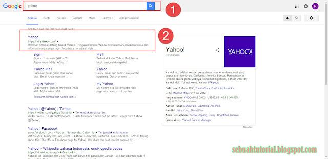 Cara Mudah Membuat Email Yahoo