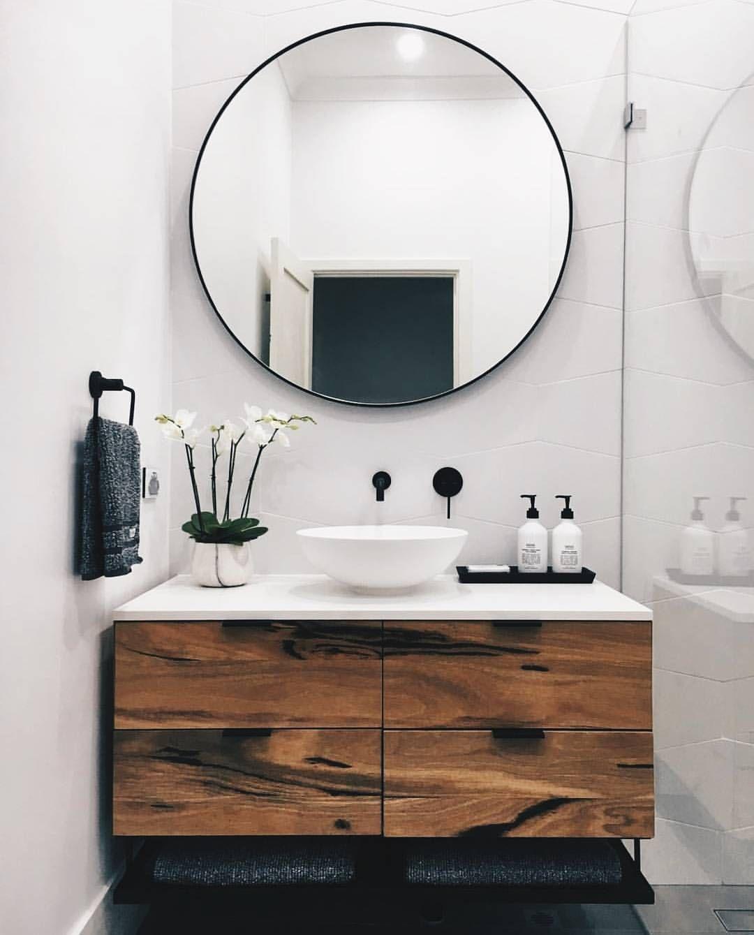 Inspiring Bathroom Mirror Design Idea