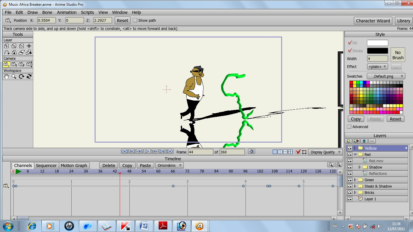 Anime studio pro is perfect for professionals looking for a more efficient alternative to tedious frame by frame animation the intuitive and affordable