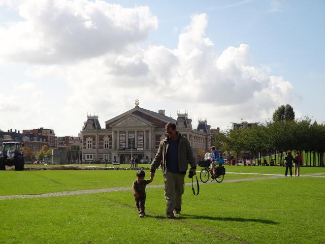 Museumplein em Amsterdam