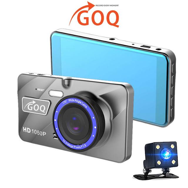 GOQ A10 Dual Lens Dash Cam