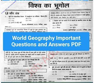 World geography questions and answers pdf download