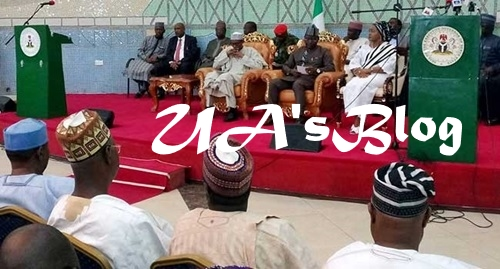 Herdsmen Killings: Buhari Arrives Benue State, Meets With Stakeholders (Photos)