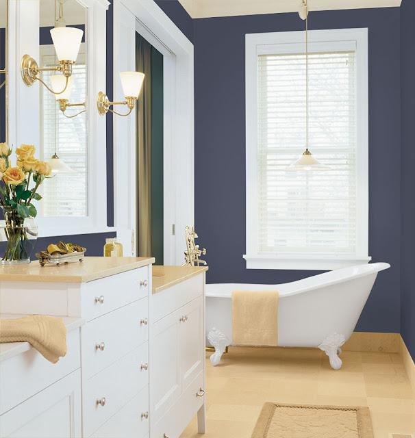 Trendsetter interiors for Bathroom finishes trends