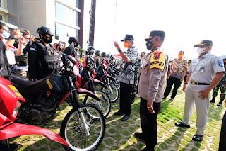 Polda Jateng gelar Apel Pasukan Operasi Ketupat Candi 2021 Cek Kesiapan Pengamanan Idul Fitri 1442 H