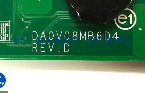 DA0V08MB6D4 REV D U31 DELL 3460 Laptop Bios