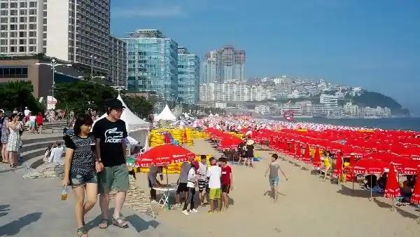 Things to Do in Busan : Haeundae Beach