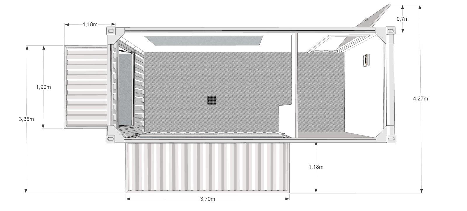 container am nag restaurant snack. Black Bedroom Furniture Sets. Home Design Ideas