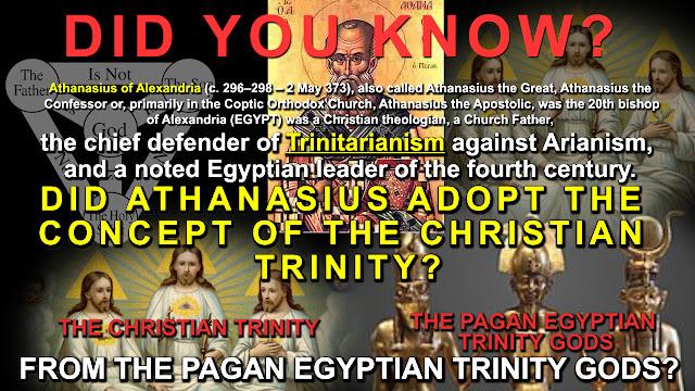 PAGAN EGYPTIAN TRINITY GODS