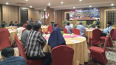DPW KSPN NTB Gelar Diskusi Kritis UU Omnibuslaw Dengan Pakar dan OKP se NTB