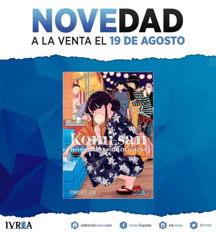 Novedades Ivrea 19 de agosto 2021 - manga