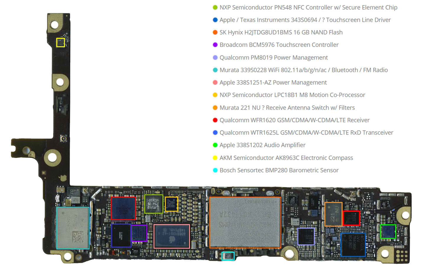 iPhone 6 Plus Schematic Diagram ~ Basic Hardware Tips And