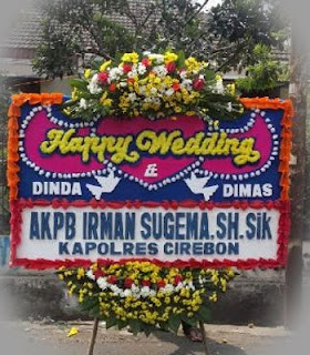 Karangan Bunga Happy Wedding Di Sudimara Selatan